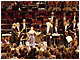 Tasmin and Sir Simon Rattle receiving ovation at the BBC Proms